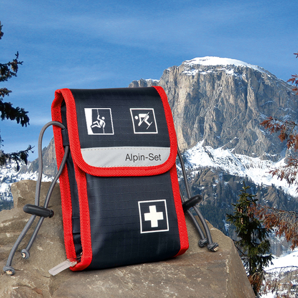 Alpin-Set first aid bag for alpinists